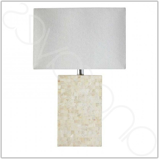 Mother Of Pearl Mosaic Table Lamp