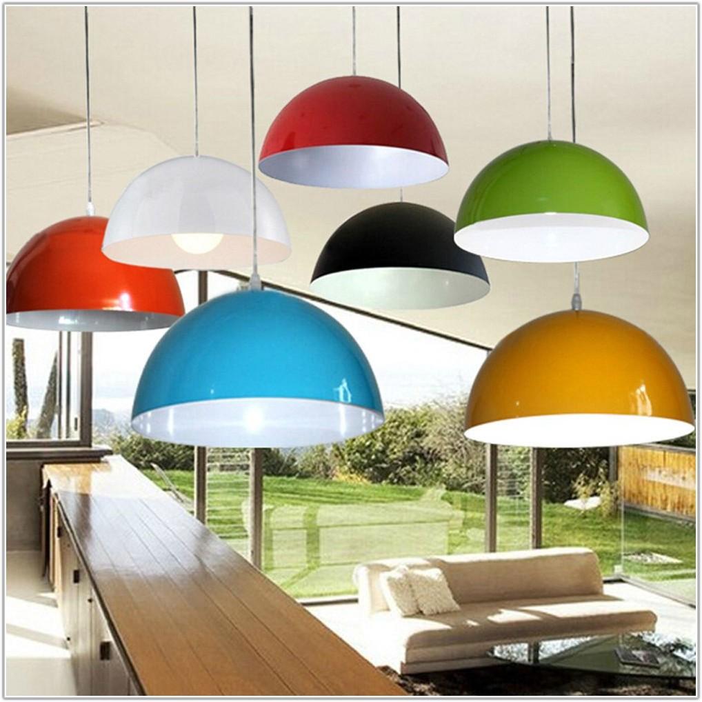 Multi Lamp Shade Ceiling Light
