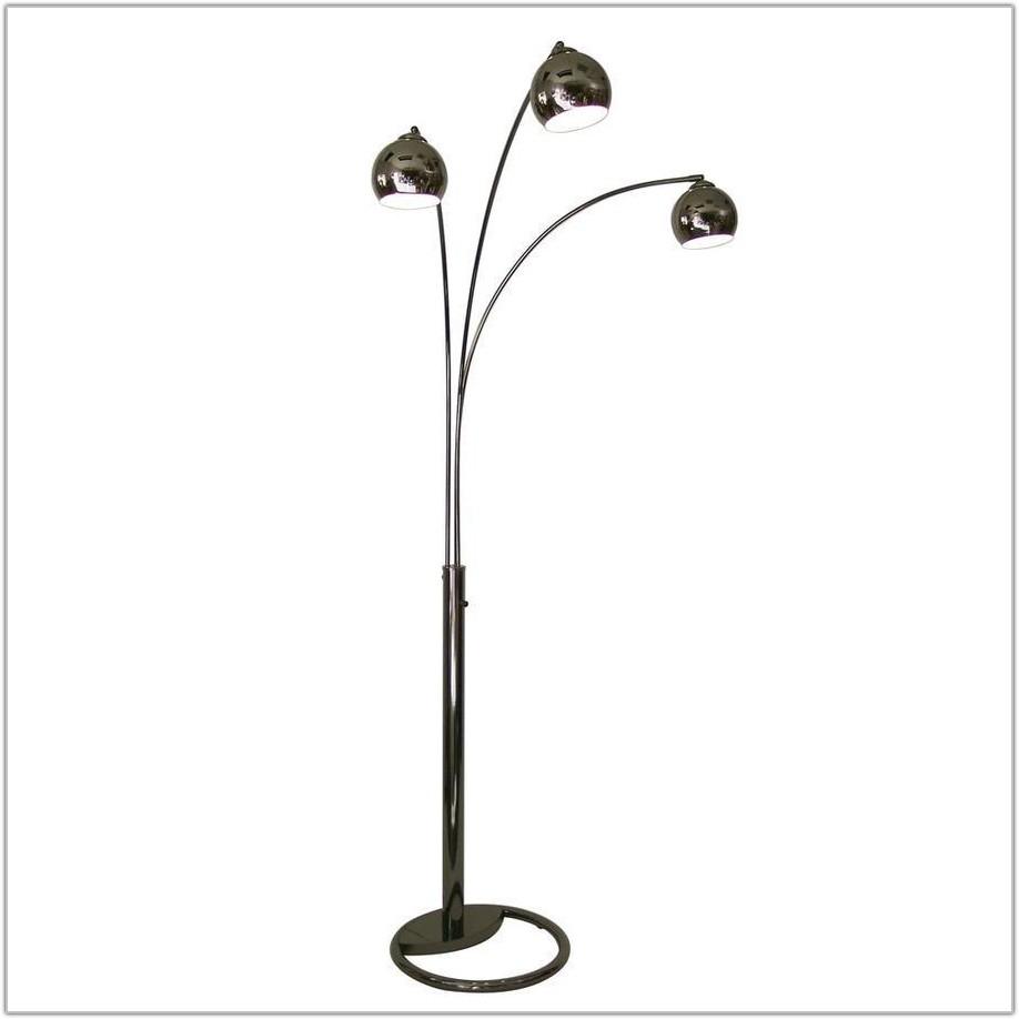 Multi Light Arc Floor Lamp