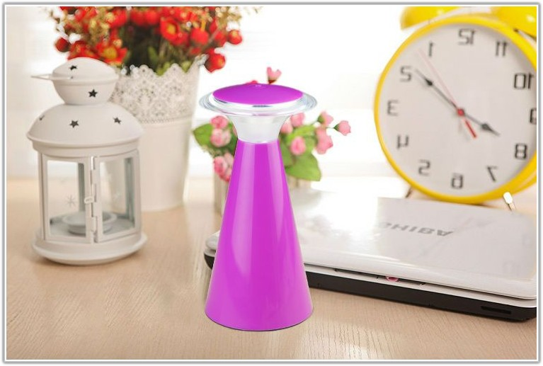 Mushroom Touch Switch Battery Led Table Lamp