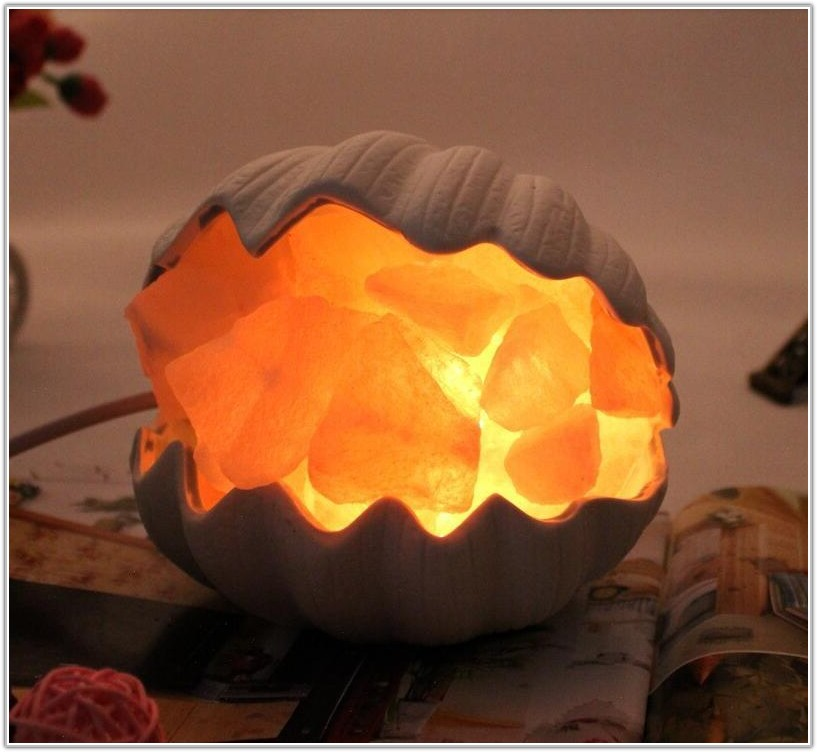 Natural Rock Salt Crystal Lamps