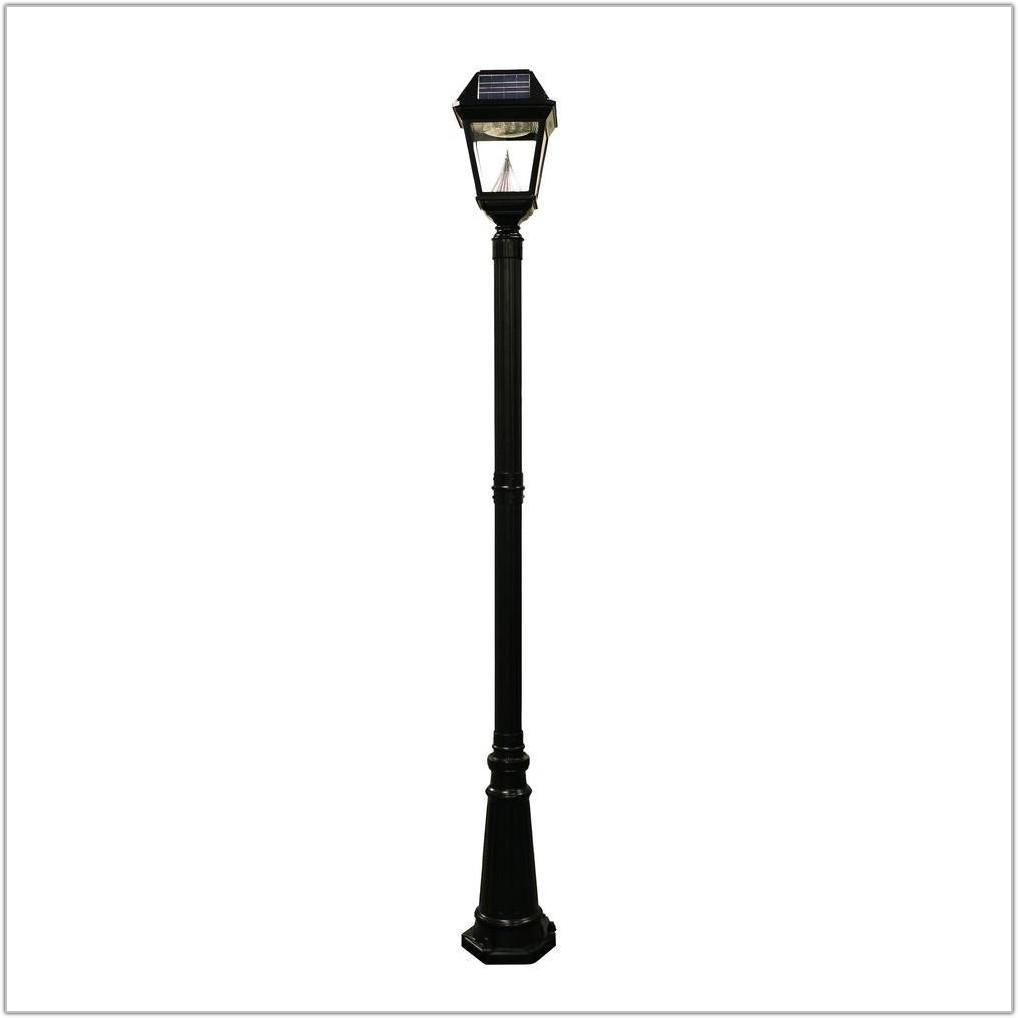 Nature Power Solar Lamp Post