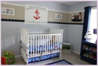 Nautical Table Lamp For Nursery