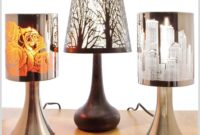 New York Skyline Table Lamp