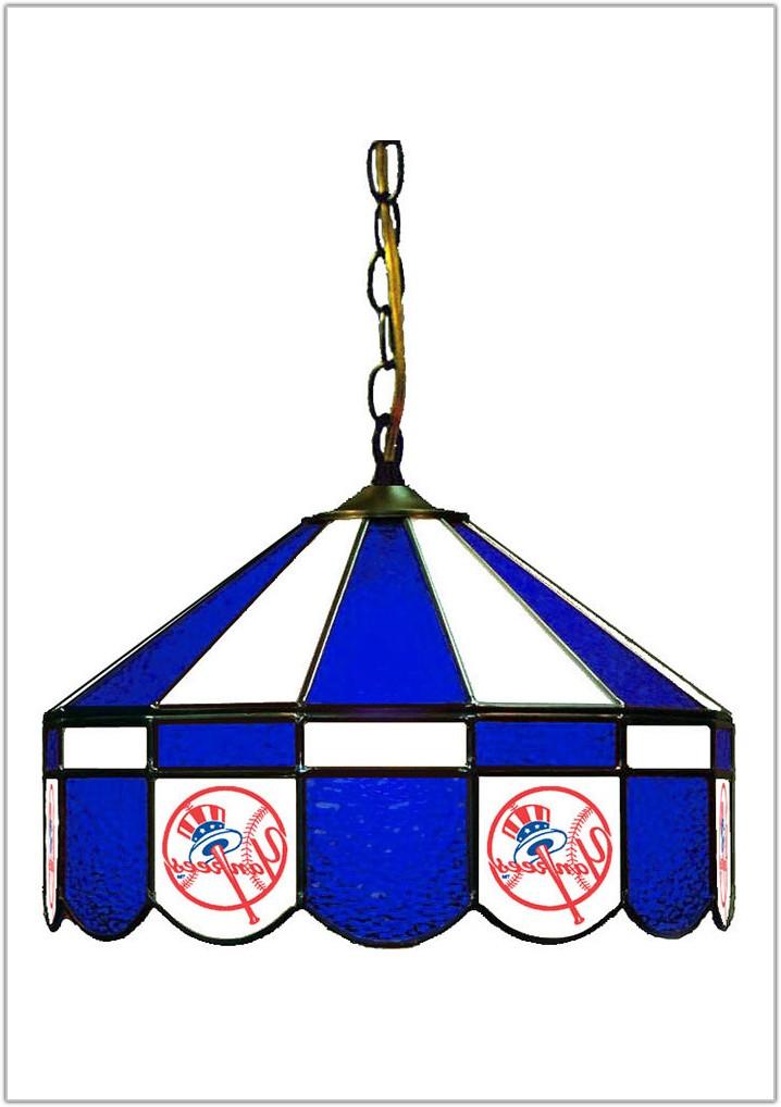 New York Yankees Floor Lamp