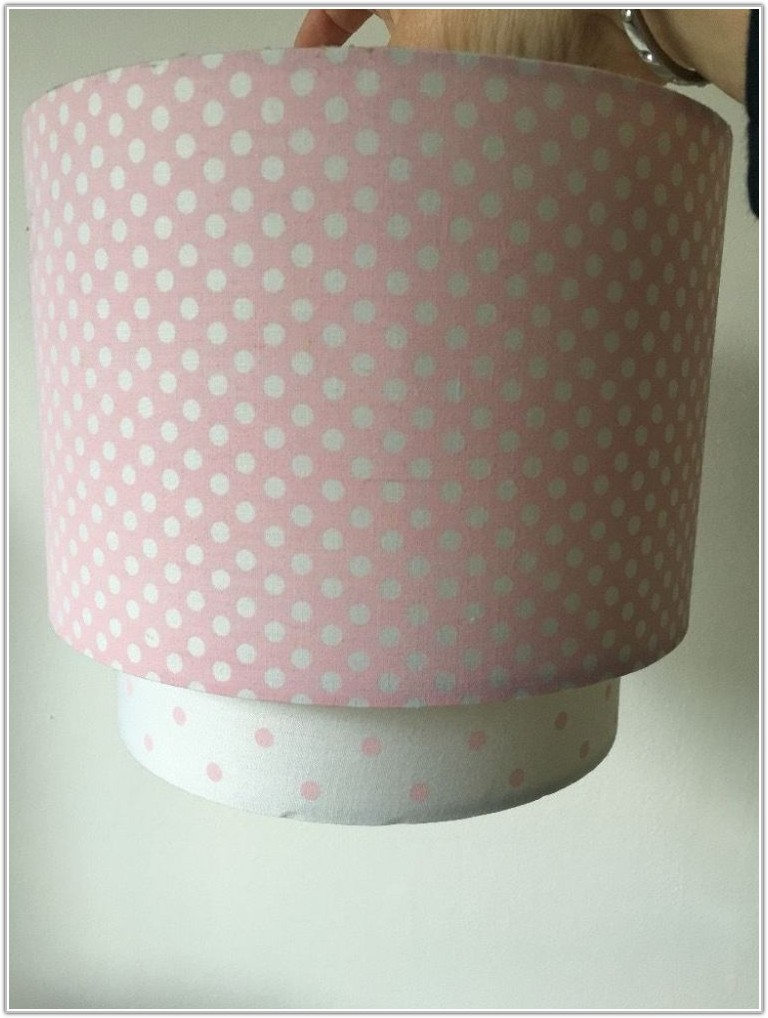 Next Pink Polka Dot Lamp Shade