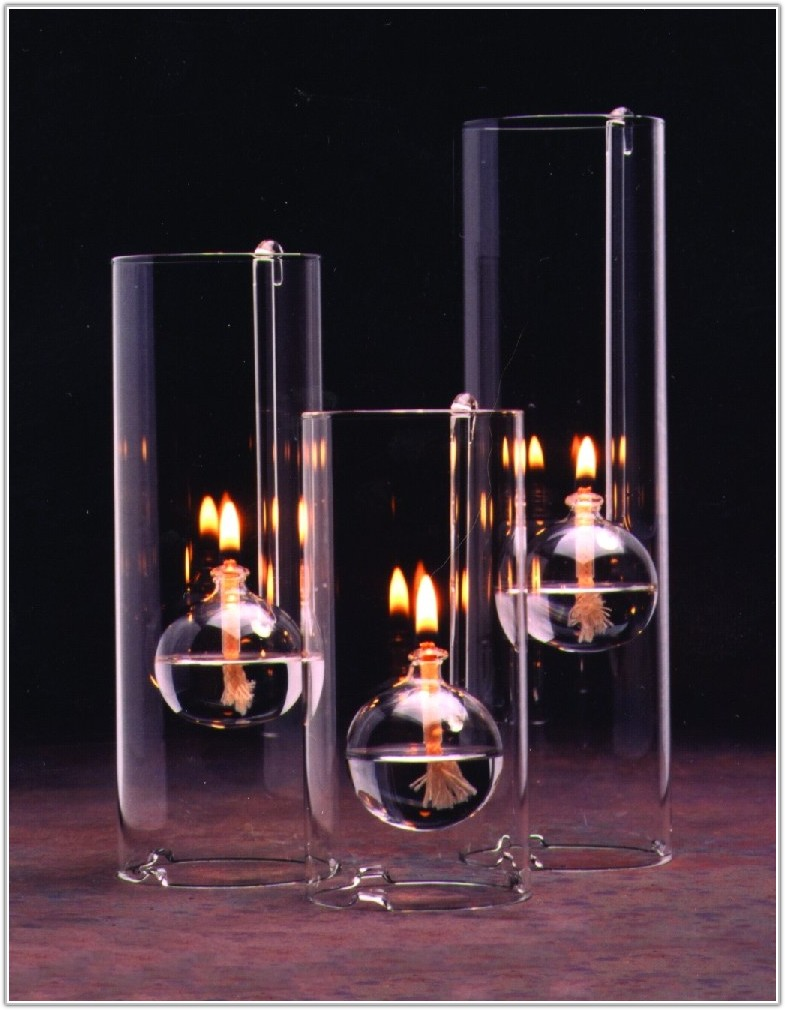 Oil Lamp Replacement Glass Chimneys