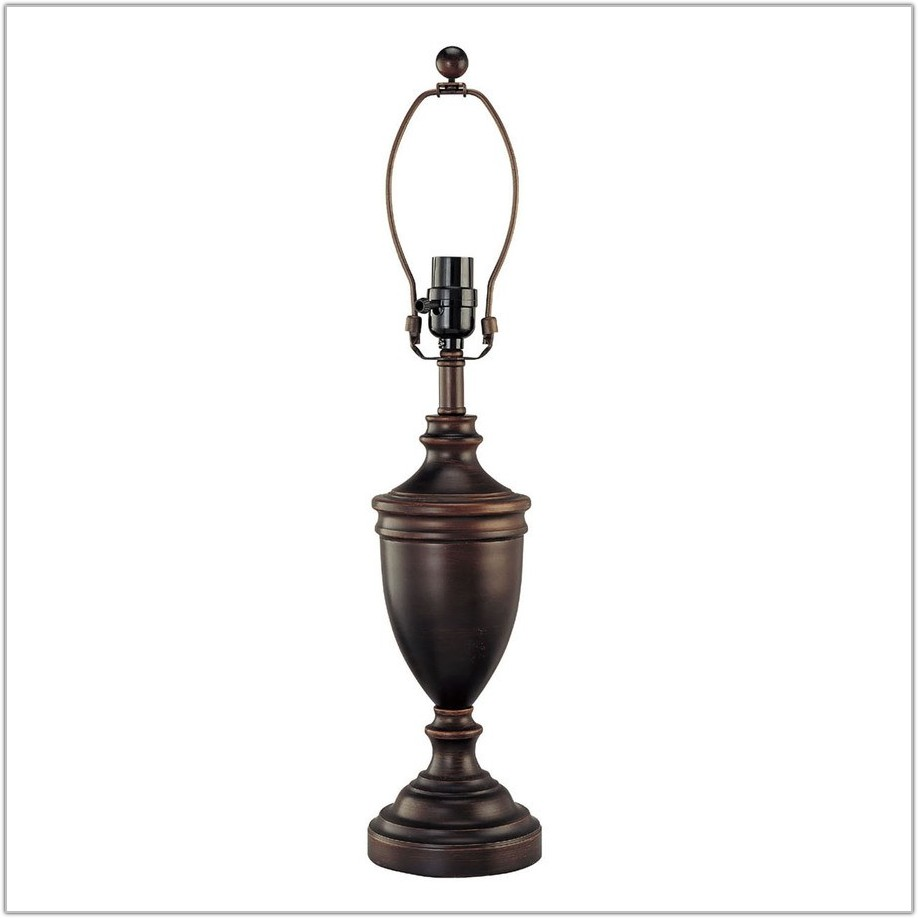 Oil Rubbed Bronze Lamp Base