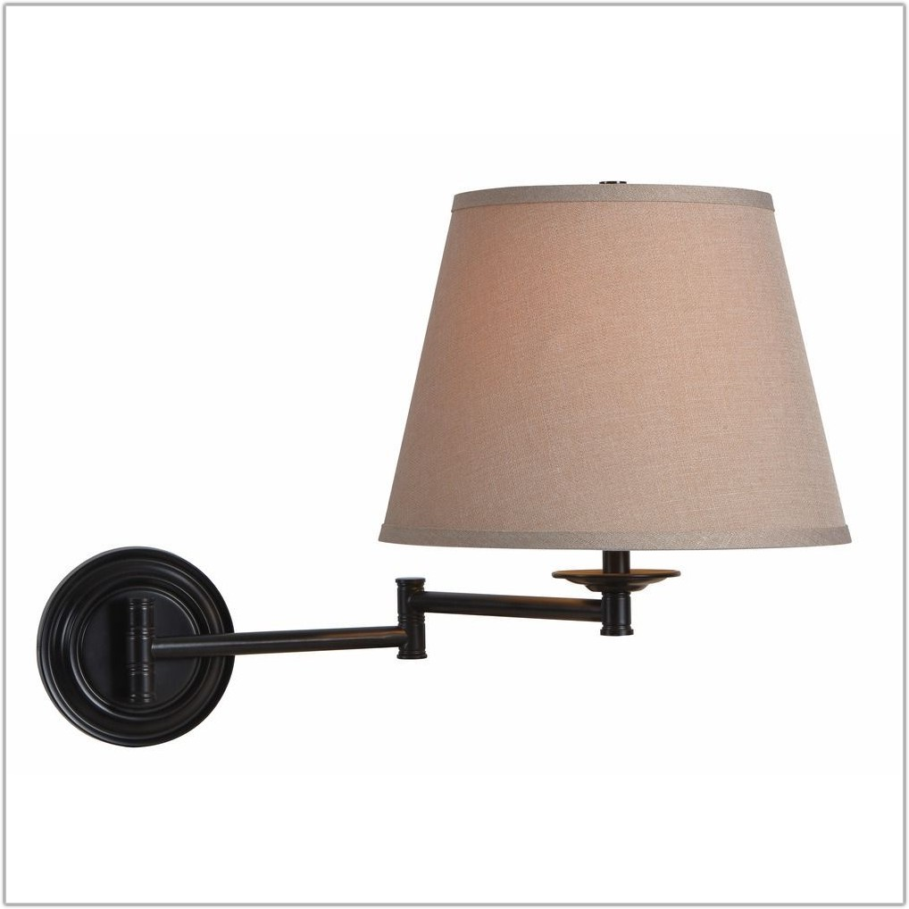 Oil Rubbed Bronze Swing Arm Lamp