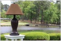 Outdoor Floor And Table Lamps