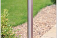 Outdoor Garden Solar Lamp Post