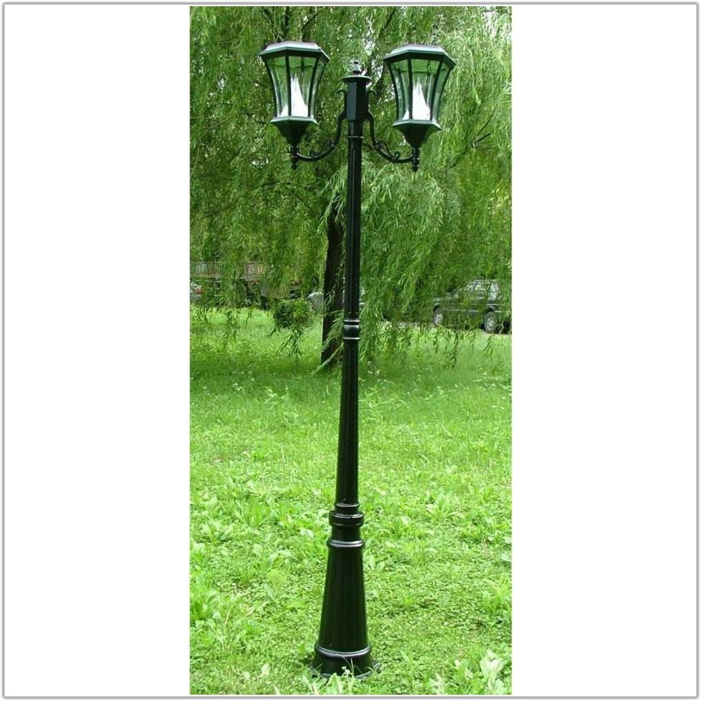 Outdoor Lighting Lamp Post Solar