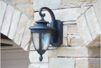 Outdoor Wall Sconces Home Depot