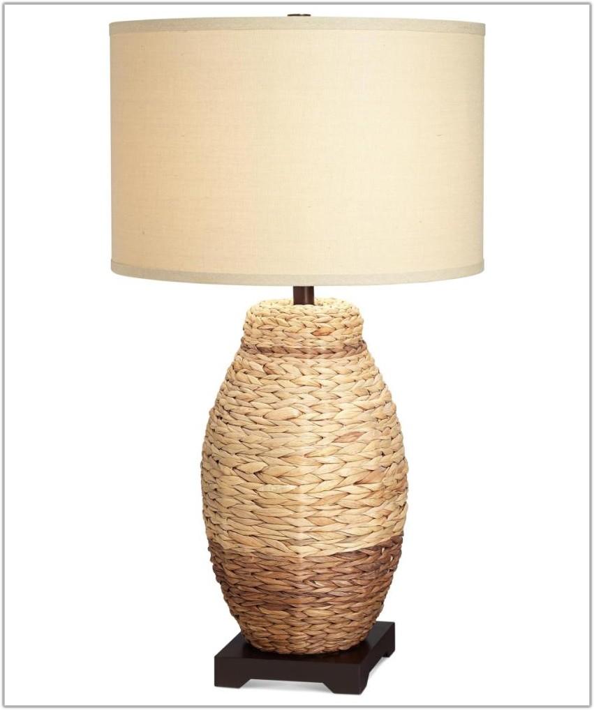 Pacific Coast Lighting Mercury Oval Table Lamp