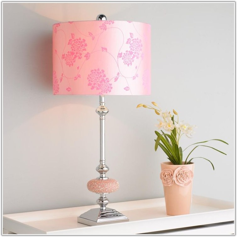 Pale Pink Table Lamp Shades