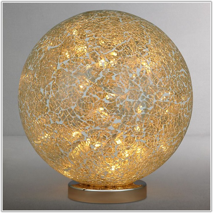 Parlane Led Mosaic Glass Table Lamp