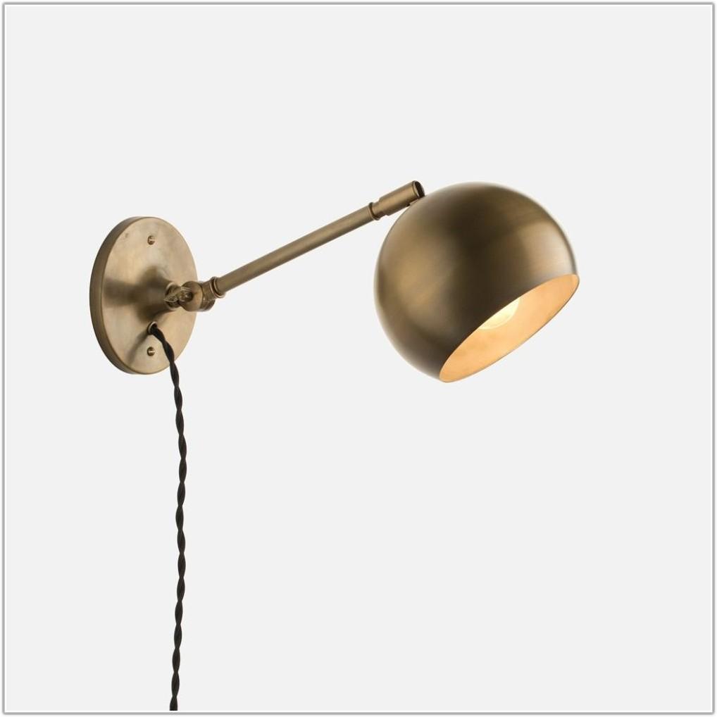 Pin Up Plug In Wall Lamp
