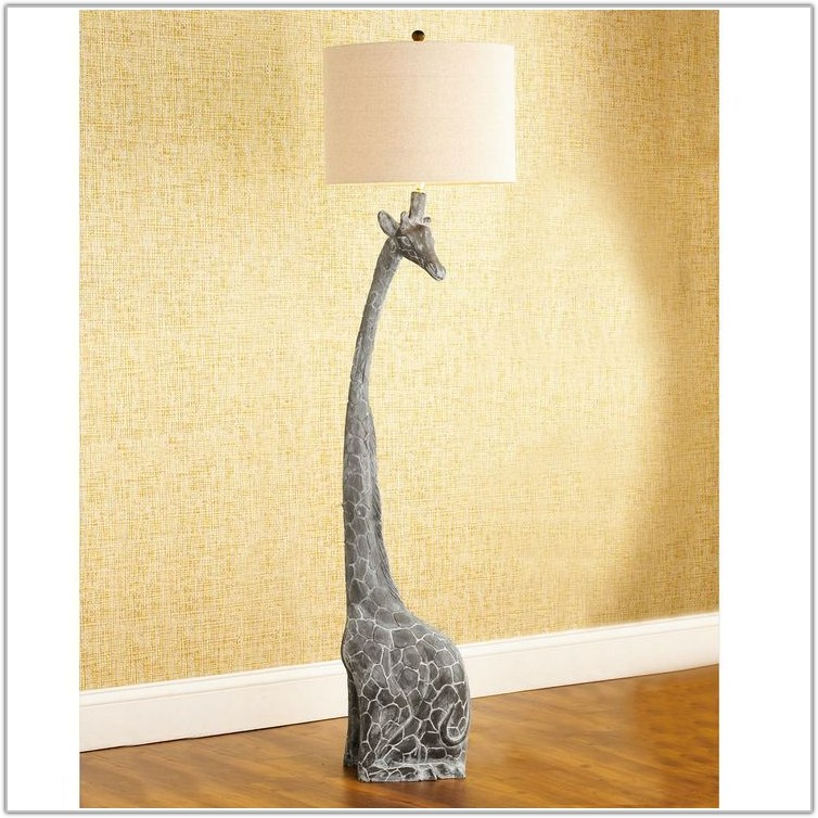 Pink And Brown Lamps For Nursery