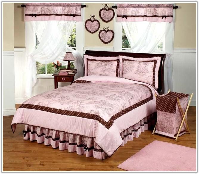 Pink And Brown Polka Dot Lamp Shade