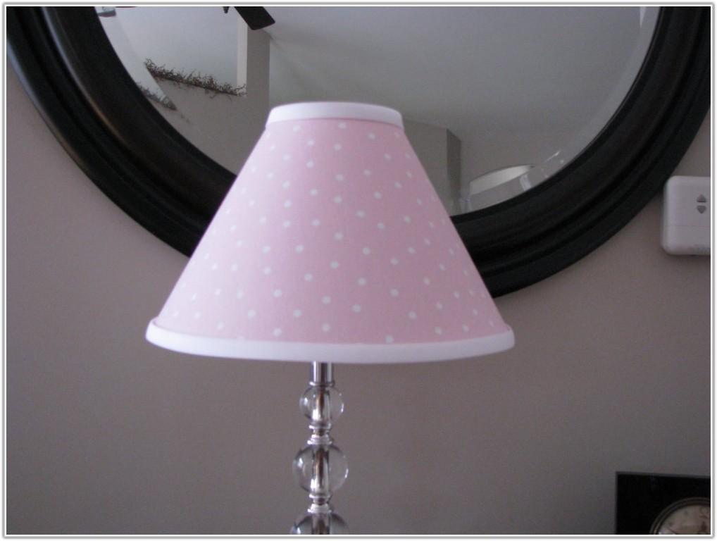 Pink Polka Dot Lamp Shade
