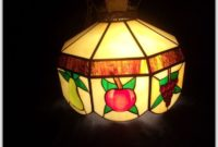 Plastic Tiffany Style Hanging Lamps