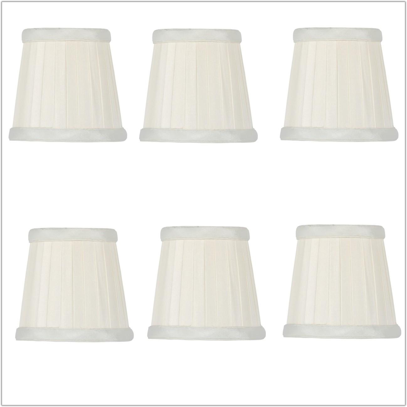 Pleated Silk Drum Lamp Shades