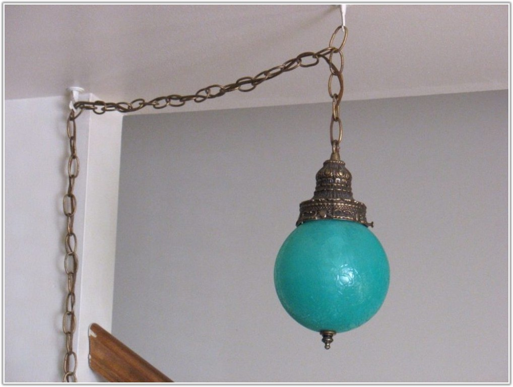 Plug In Hanging Chain Lamps