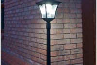 Plug In Outdoor Lamp Post