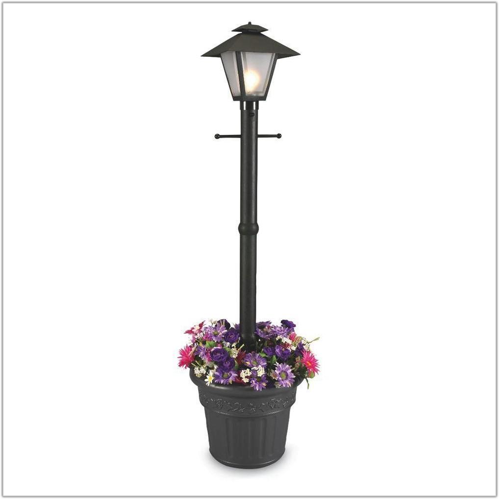 Plug In Outdoor Post Lantern