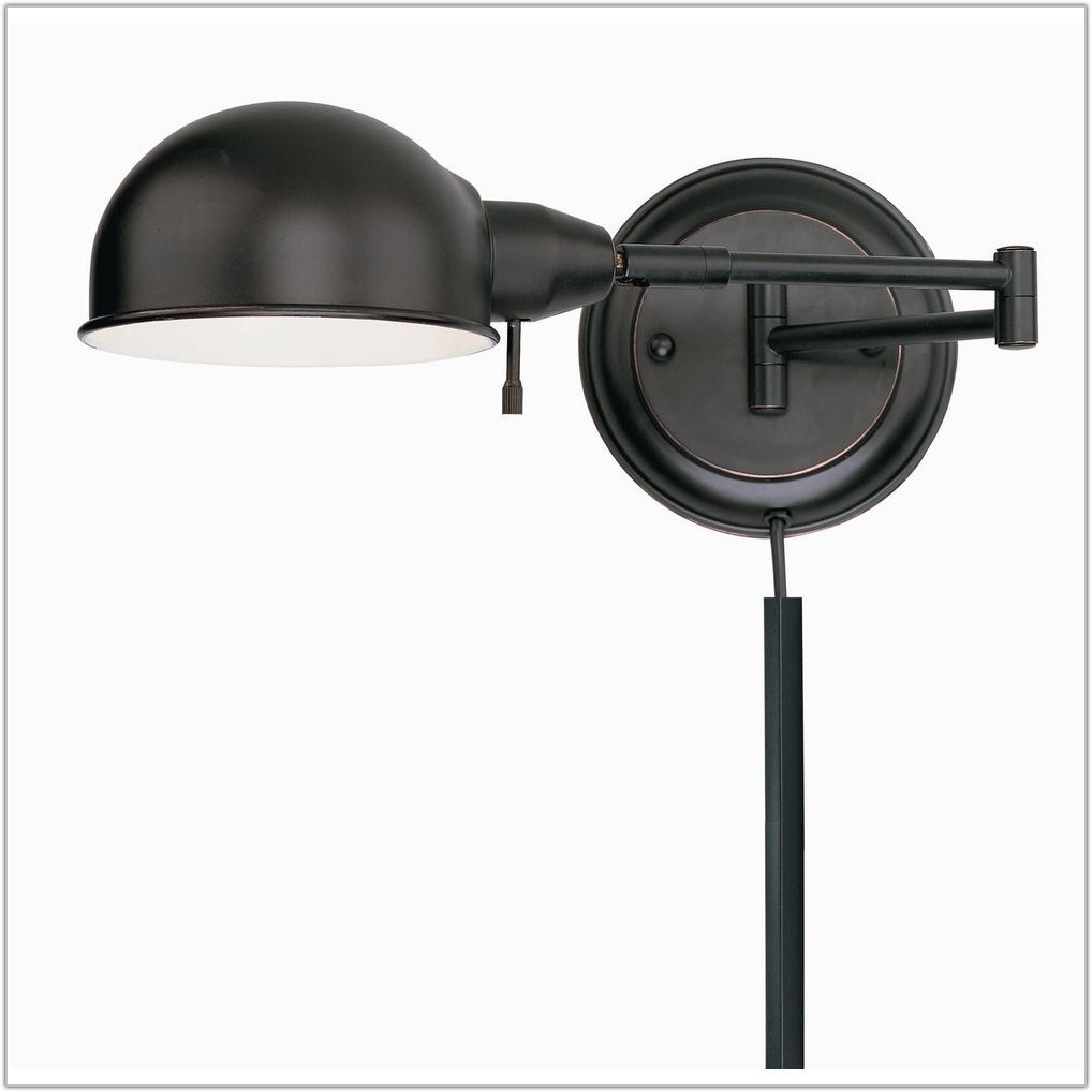 Plug In Swing Arm Lamp