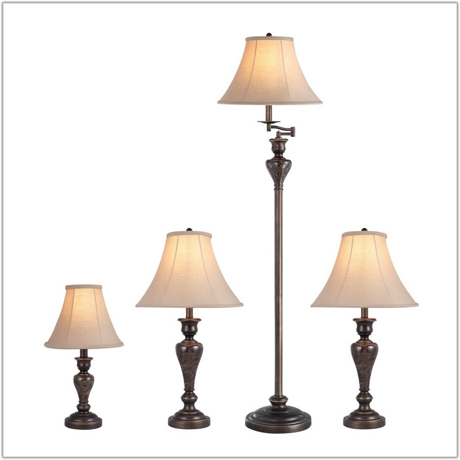 Portfolio 4 Piece Lamp Set