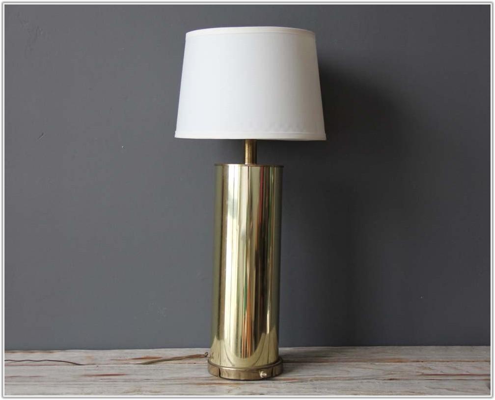 Possini Black Gold Table Lamp