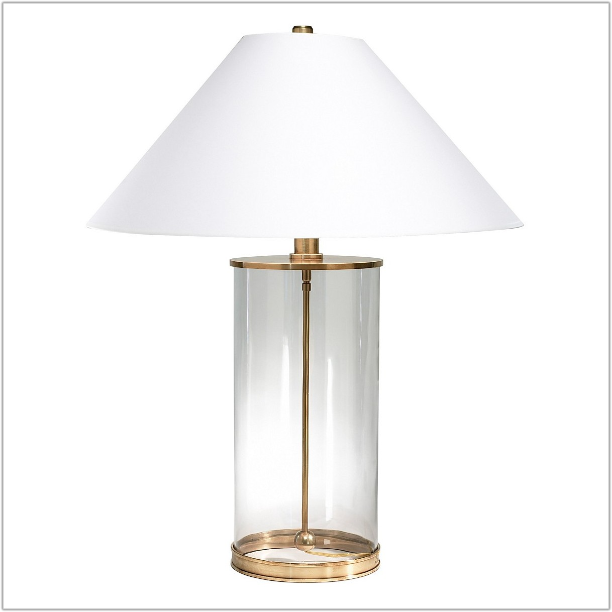 66446c1a39be Ralph Lauren Glass Cylinder Table Lamp - Lamps : Home Decorating ...