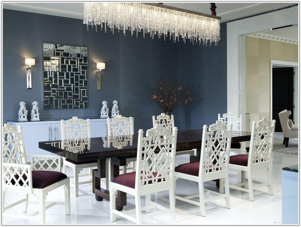 Rectangle Dining Room Table Lighting