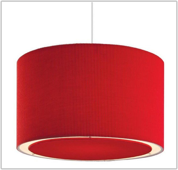 Red Glass Ceiling Lamp Shades