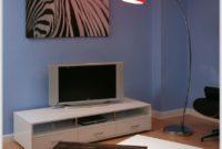 Red Retro Arco Floor Lamp