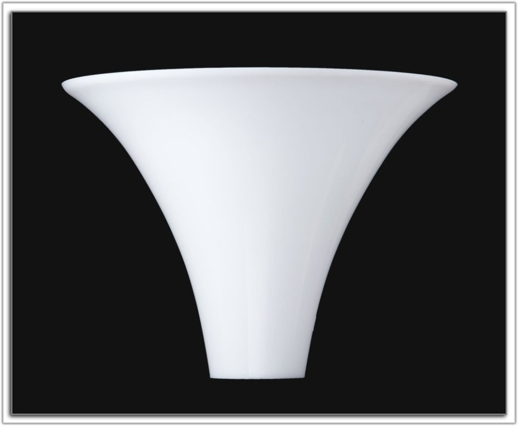 Replacement Frosted Glass Shade Floor Lamp