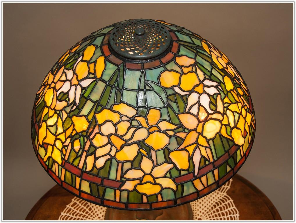 Reproduction Art Glass Lamp Shades