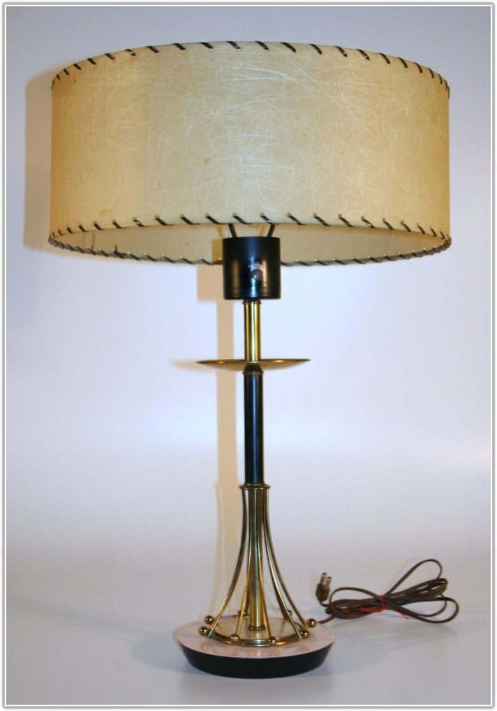 Reproduction Mid Century Lamp Shades