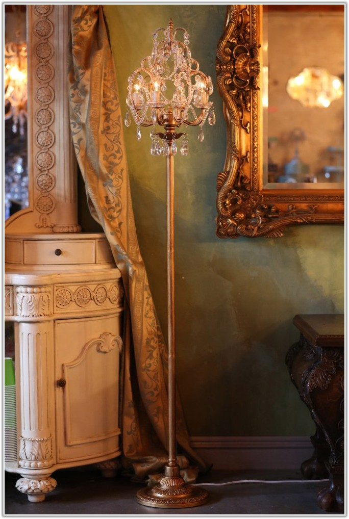 Restoration Hardware Floor Lamp Chandelier