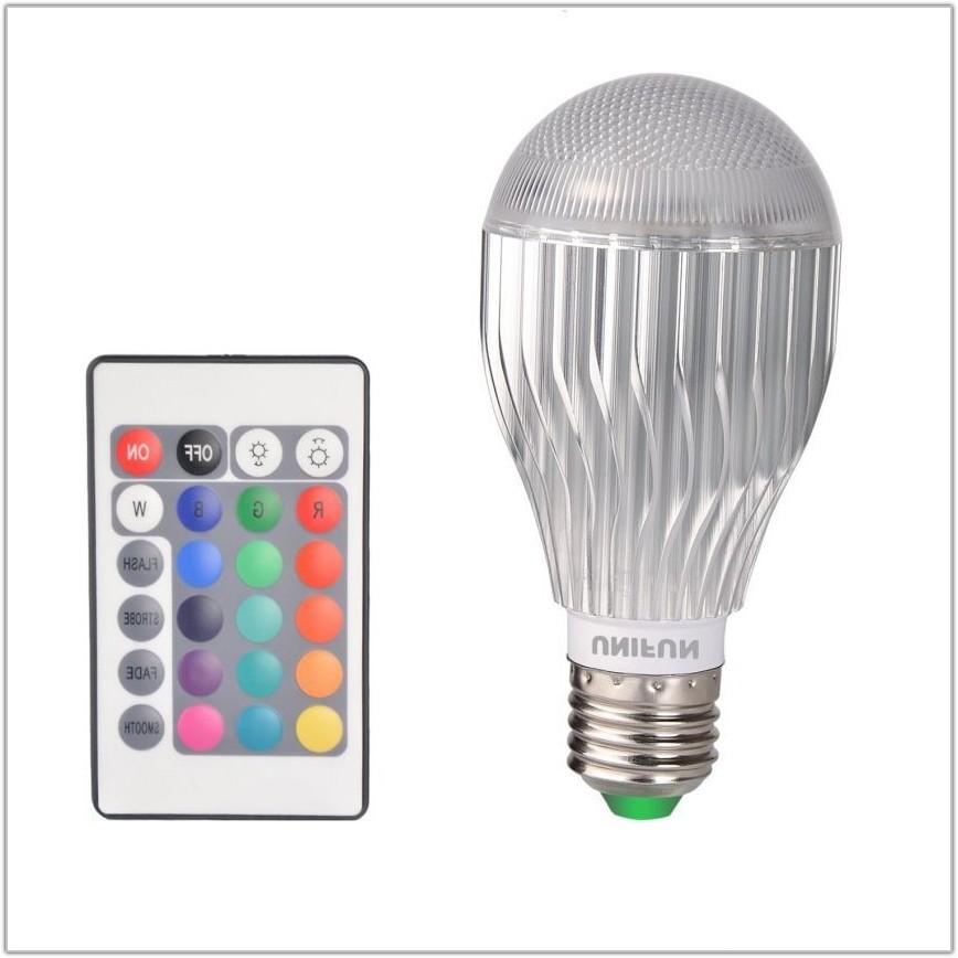 Rgb Led Bulb Remote Controlled