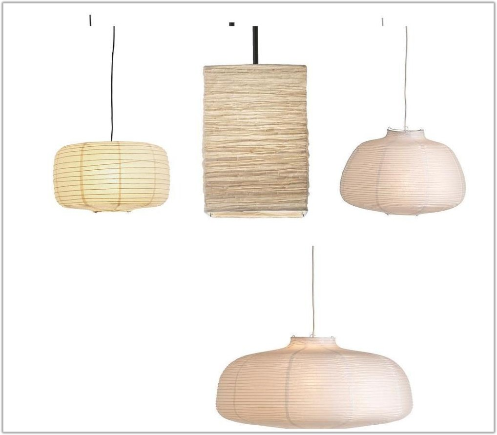 Rice Paper Pendant Lamp Shade