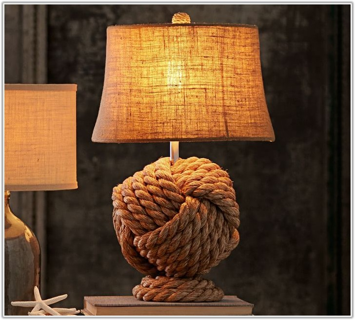Rope Knot Table Lamp Base