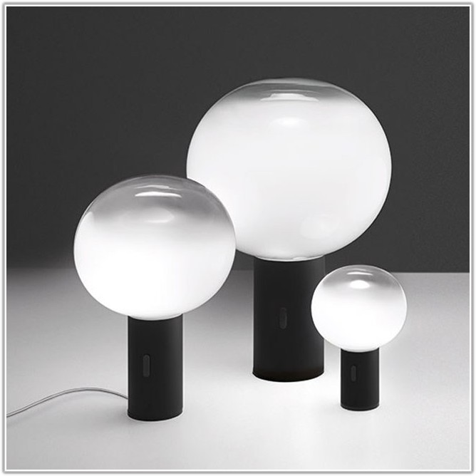 Round Glass Table Lamp Shade