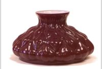 Ruby Red Glass Lamp Shade