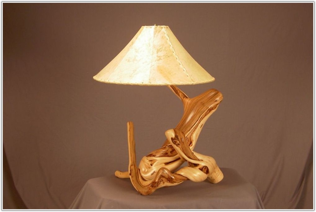 Rustic Table Lamps For Cabins