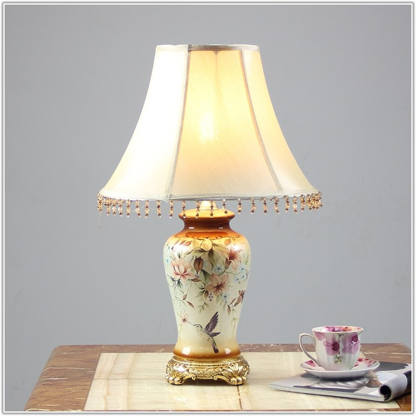 Rustic Table Lamps For Living Room