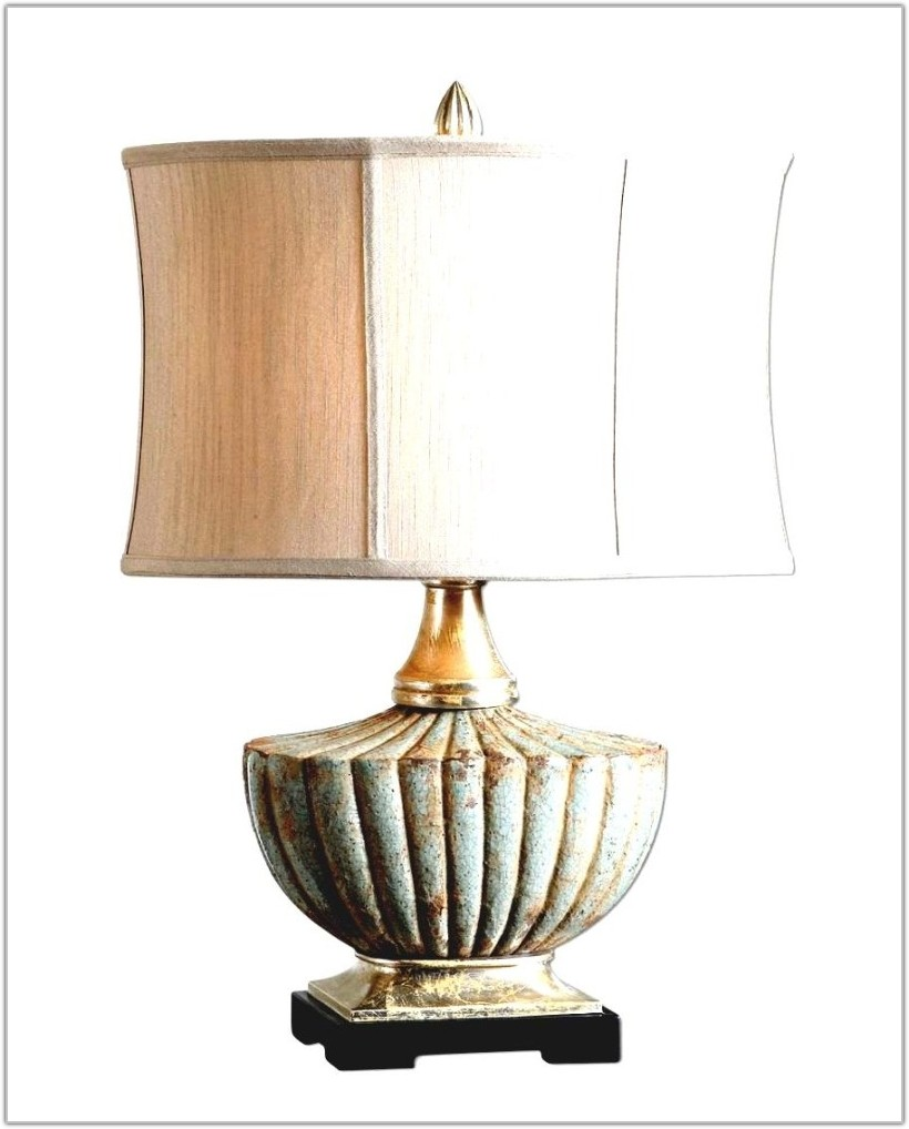 Rustic Table Lamps Living Room