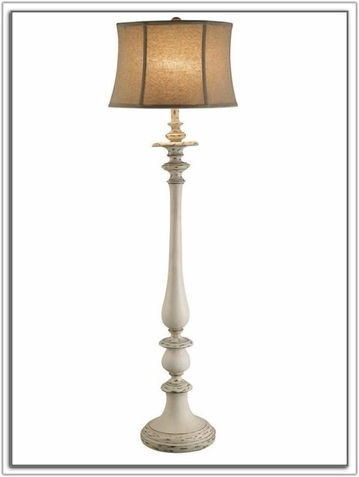 Shabby Chic Floor Lamp Base
