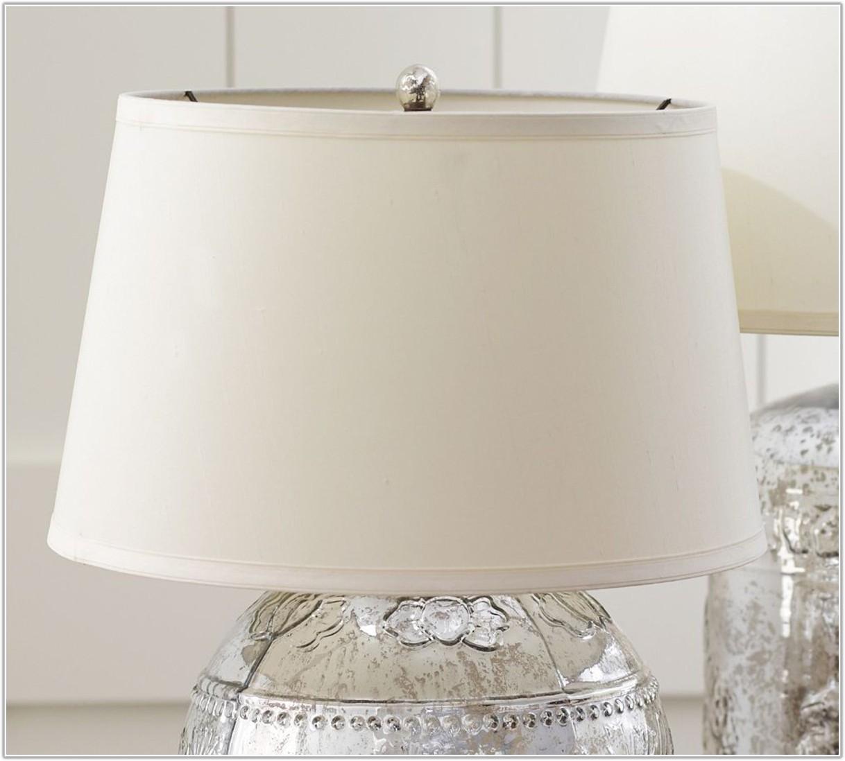 Silk Tapered Drum Lamp Shade